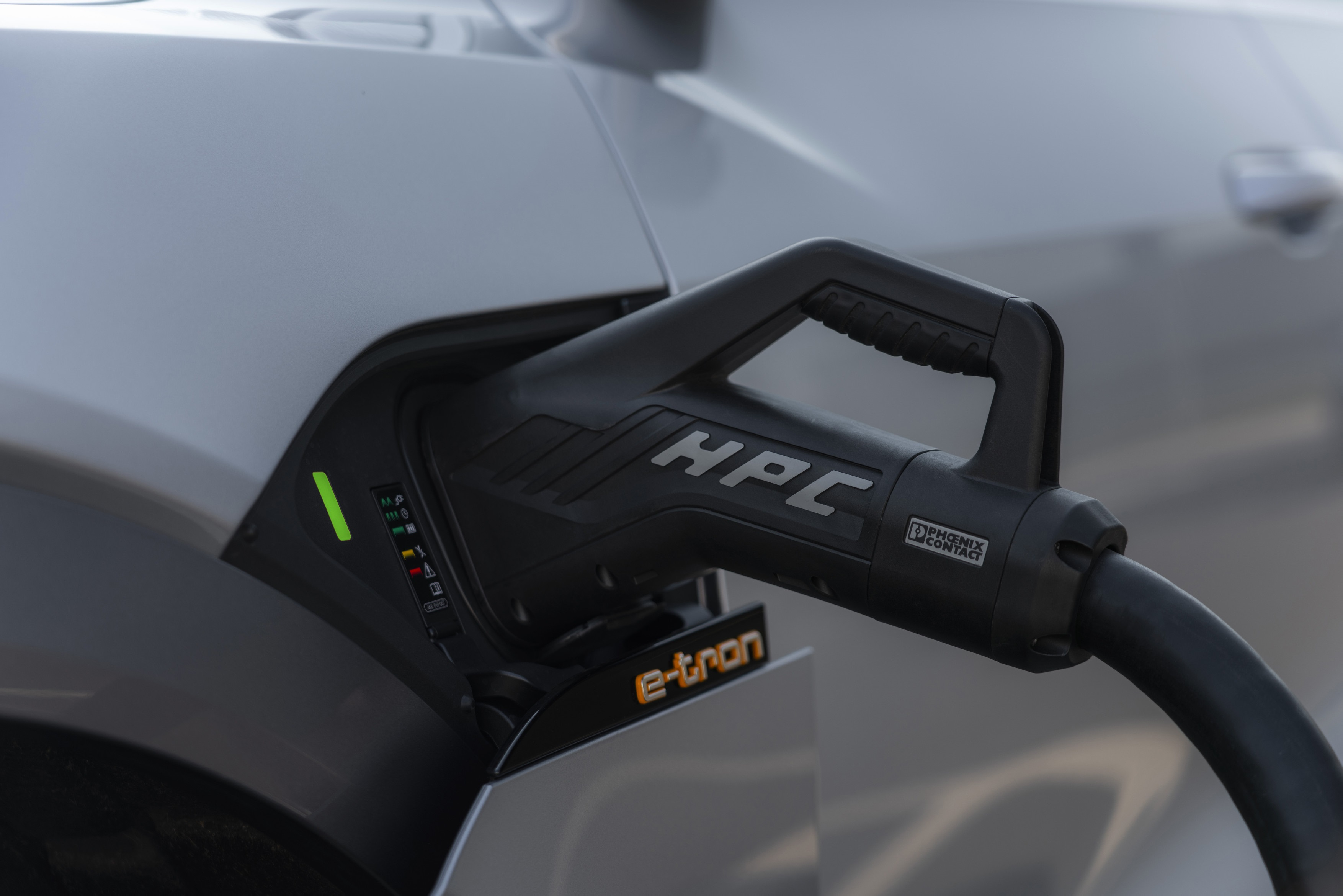 Audi's one-stop shop for EV charging, the e-tron charging service