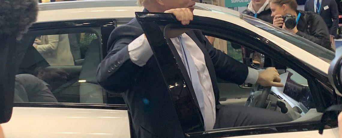 Boris Johnson and Hyundai Nexo H