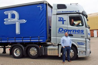 Downes Transport has rejoined the Pallet-Track network