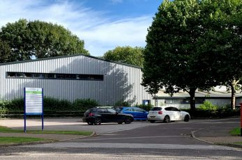 Knees new premises at at the White Horse Business Park