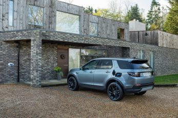The Land Rover Discovery Sport, named Best Premium Large SUV